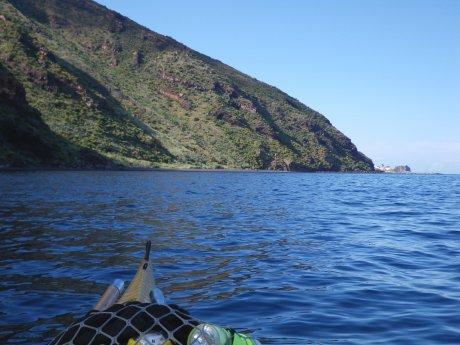 Stromboli costa Sud orientale - spiaggia Malpasseddu
