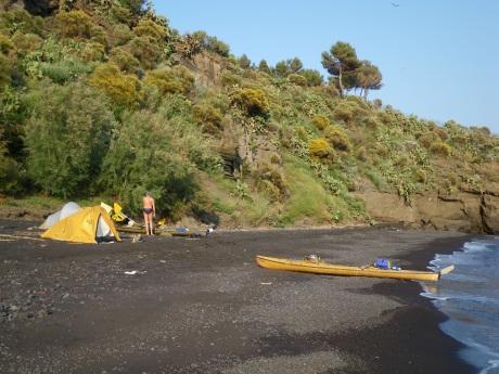 Isole eolie vulcano lipari panarea stromboli eko - Alla colorazione della spiaggia ...