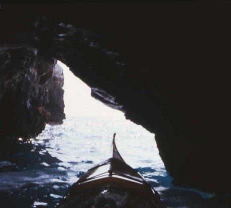 grotta nella baia di Uluzzo