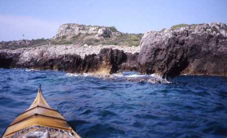costa e baia di Uluzzo