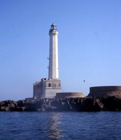 Il faro dell'isola di Sant'Andrea