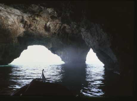 Grotta delle 3 Porte, ampia e maestosa