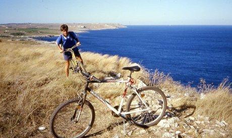 da Miggiano, La costa che degrada verso Otranto