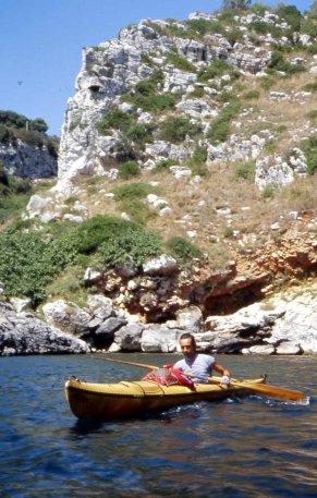 costa vicino a Porto Badisco