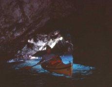 Davide in grotta