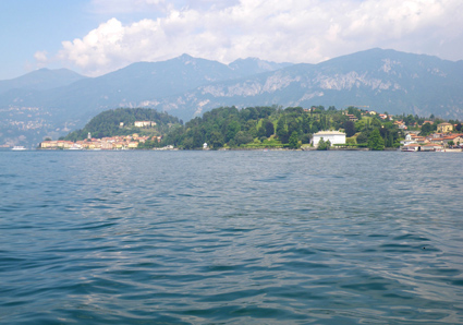 Punta di Bellagi e Villa Melzi