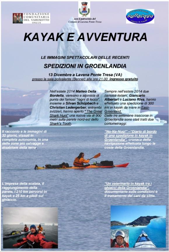 spedizioni in Groenlandia