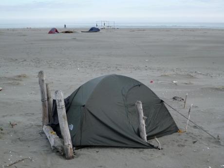 Bivacco in Spiaggia allo Scanno del Burcio