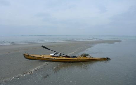 all'Ultima Spiaggia - l'estrema punta occidentale dello scanno di Goro (o di Piallazza)