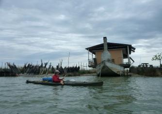 Casa-barca alla Sacca del Canarin - Polesine Camerini
