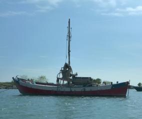 barca da pesca della sacca di Scardovari