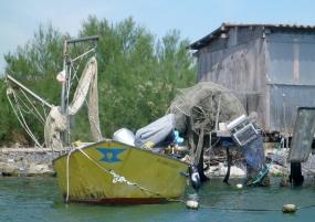 barca e cavana di Scardovari