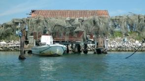 reti, cavana e barca a Scardovari