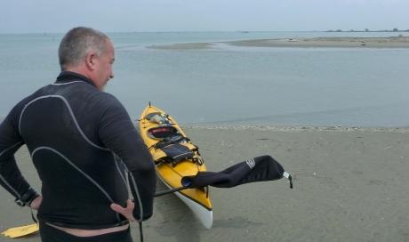 all'Ultima Spiaggia - La punta occidentale dello scanno di Goro (o di Piallazza)